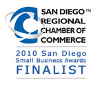 San Diego Chamber of Commerce Finalist